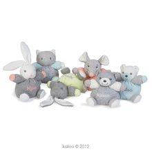 Plyšové zajace - Plyšový zajačik Zen-Mini Chubbies Kaloo 12 cm pre najmenších svetlozelený_1