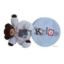 Plyšové medvede - Plyšový medvedík Blue Denim-Chubby Bear Kaloo 25 cm v darčekovom balení pre najmenších modrý_0