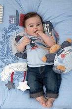 Hračky pre bábätká - Plyšový zajačik Blue Denim-Chubby Rabbit Kaloo 25 cm v darčekovom balení pre najmenších modrý_8