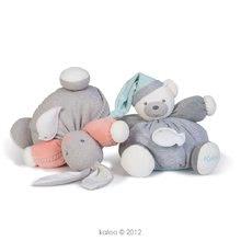 Plyšové medvede - Plyšový medvedík Zen-Chubby Bear Kaloo s hrkálkou 30 cm v darčekovom balení pre najmenších šedý_2