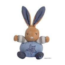 Plyšové zvieratká - Jemné plyšové zvieratká BLUE DENIM - MINI CHUBBIES Kaloo 12 cm modré v luxusnom prevedení_1