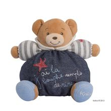 Plyšové medvede - Plyšový medvedík Blue Denim-Happy Chubby Bear Kaloo 25 cm v darčekovom balení pre najmenších_0