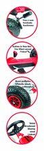 Staré položky - Čtyřkolka Go Kart Maxi Gonflables Smoby s nafukovacími koly_0
