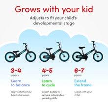 Otroška kolesa 12 - Kolo Xtend Mg+Bike Red smarTrike razširitveni okvir iz magnezija in 2 zavorna diska od 3-7 leta_9