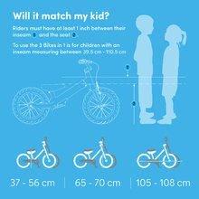 Otroška kolesa 12 - Kolo Xtend Mg+Bike Red smarTrike razširitveni okvir iz magnezija in 2 zavorna diska od 3-7 leta_10