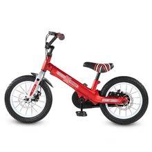 Otroška kolesa 12 - Kolo Xtend Mg+Bike Red smarTrike razširitveni okvir iz magnezija in 2 zavorna diska od 3-7 leta_3