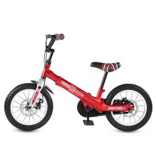 Otroška kolesa 12 - Kolo Xtend Mg+Bike Red smarTrike razširitveni okvir iz magnezija in 2 zavorna diska od 3-7 leta_4