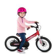 Otroška kolesa 12 - Kolo Xtend Mg+Bike Red smarTrike razširitveni okvir iz magnezija in 2 zavorna diska od 3-7 leta_6