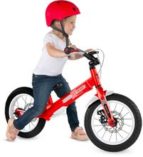 Otroška kolesa 12 - Kolo Xtend Mg+Bike Red smarTrike razširitveni okvir iz magnezija in 2 zavorna diska od 3-7 leta_8