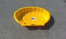 Pieskoviská pre deti - Pieskovisko Mušľa Dohány objem 112 litrov 109*78 cm žlté od 24 mes_1