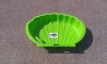 Pieskoviská pre deti - Sada dvoch pieskovísk Mušľa Dohány objem 2x112 litrov 109*78 cm zelené od 24 mes_1