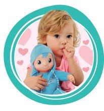 Bábiky od 9 mesiacov - Bábika so zvukom MiniKiss Smoby 27 cm modrá od 12 mes_0