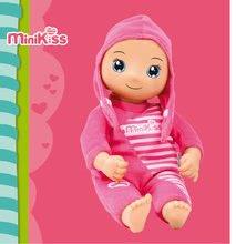 Bábiky od 9 mesiacov - Bábika s nahrávaním zvuku Murmures MiniKiss Smoby 27 cm ružová od 12 mes_3