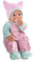 Păpuşă cu suzetă Minikiss Smoby roz de la 12 luni