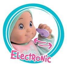 Domčeky pre bábiky sety - Set opatrovateľské centrum pre bábiku Baby Nurse Smoby a bábika so zvukom MiniKiss 27 cm_9