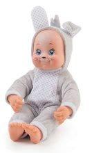 Bábiky od 9 mesiacov - Bábika v kostýme zvieratká Animal Doll Minikiss Smoby 27 cm so zvukom 3 druhy Líška Zajac Srnček od 12 mes_1