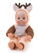 Bábiky od 9 mesiacov - Bábika v kostýme zvieratká Animal Doll Minikiss Smoby 27 cm so zvukom 3 druhy Líška Zajac Srnček od 12 mes_2
