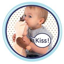 Bábiky od 9 mesiacov - Bábika v kostýme zvieratká Animal Doll Minikiss Smoby 27 cm so zvukom 3 druhy Líška Zajac Srnček od 12 mes_7