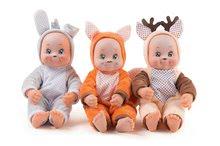 Bábika v kostýme zvieratká Animal Doll Minikiss Smoby 27 cm so zvukom 3 druhy Líška Zajac Srnček od 12 mes