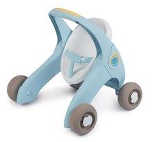 Dětská chodítka - Chodítko a kočárek pro panenku Croc Baby Walker MiniKiss 3in1 Smoby s brzdou a bezpečnostním pásem od 12 měsíců_2
