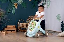 Dětská chodítka - Chodítko a kočárek pro panenku Croc Baby Walker MiniKiss 3in1 Smoby s brzdou a bezpečnostním pásem od 12 měsíců_7
