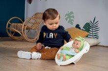 Dětská chodítka - Chodítko a kočárek pro panenku Croc Baby Walker MiniKiss 3in1 Smoby s brzdou a bezpečnostním pásem od 12 měsíců_8