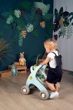 Dětská chodítka - Chodítko a kočárek pro panenku Croc Baby Walker MiniKiss 3in1 Smoby s brzdou a bezpečnostním pásem od 12 měsíců_9