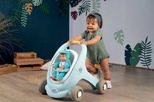 Dětská chodítka - Chodítko a kočárek pro panenku Croc Baby Walker MiniKiss 3in1 Smoby s brzdou a bezpečnostním pásem od 12 měsíců_11