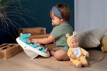 Dětská chodítka - Chodítko a kočárek pro panenku Croc Baby Walker MiniKiss 3in1 Smoby s brzdou a bezpečnostním pásem od 12 měsíců_12
