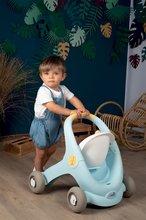 Dětská chodítka - Chodítko a kočárek pro panenku Croc Baby Walker MiniKiss 3in1 Smoby s brzdou a bezpečnostním pásem od 12 měsíců_13