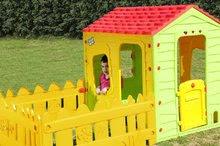 Domčeky pre deti - Domček Fun Farm Starplast s plotom a záhradkou od 24 mes_1