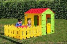 Domčeky pre deti - Domček Fun Farm Starplast s plotom a záhradkou od 24 mes_0