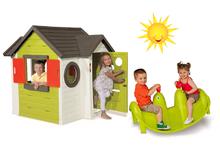 Szett házikó My House Smoby csengővel és libikóka Fóka 2 éves kortól