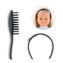 210710 a corolle hair brush set 36cm