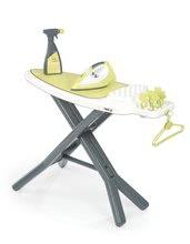Hry na domácnosť - Set upratovací vozík Clean Service Smoby a žehliaca doska s elektronickou žehličkou Clean_0