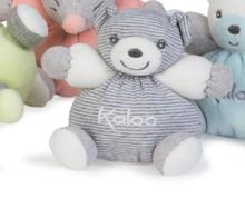 Plyšový medvedík Zen-Mini Chubbies Kaloo 12 cm pre najmenších pásikavý