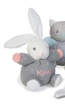 Plyšový zajačik Zen-Mini Chubbies Kaloo s úpletom 12 cm pre najmenších