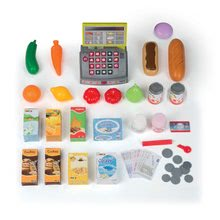 Obchody pre deti - Obchod SuperMarket Smoby s vozíkom a 49 doplnkami_0