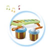 Hračky zvukové - Hudební xylofon Cotoons Smoby s bubny a zvonkem od 12 měsíců_2