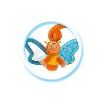 Dětské sedačky - Lehátko Cotoons Smoby s motýlkem pro nejmenší modro-zelené_2