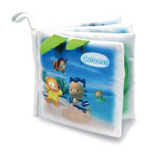 Textilná knižka Cotoons Smoby s rozprávkami pre kojencov od 3 mes