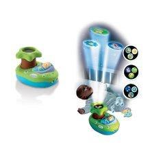 Legkisebbek játékai - Világító projektor kiságyhoz Cotoons Smoby zenével kisbabáknak zöld-kék_0