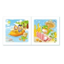 Hračky do vany - Knížka do vody Cotoons Smoby voděodolná barevná od 12 měsíců_2