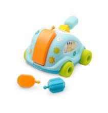 Igrače za vlečenje - Avto Hrošč Cotoons Smoby s kockami modro-zelen od 12 mes_4