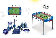 Set futbalový stôl Challenger Smoby a futbalový set s kužeľmi a loptou od 6 rokov