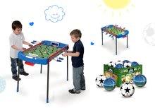 Szett csocsóasztal Challenger Smoby és futball-labda 6 évtől