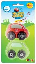 Autíčka - Sada 2 ch autíčok Vroom Planet Smoby 1 autíčko na batérie, 1 obyčajné autíčko dĺžka 7 cm od 12 mes_1