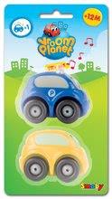 Autíčka - Sada 2 ch autíčok Vroom Planet Smoby 1 autíčko na batérie, 1 obyčajné autíčko dĺžka 7 cm od 12 mes_2