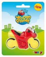Autíčka - Hračkárska motorka Vroom Planet Smoby dĺžka 8 cm červená od 12 mes_0
