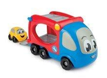 Nákladné autá - Kamión - transportér Smoby dĺžka 21 cm s farebným autíčkom od 12 mes_7